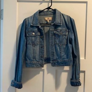 JUICY COUTURE CROPPED DENIM JACKET💙
